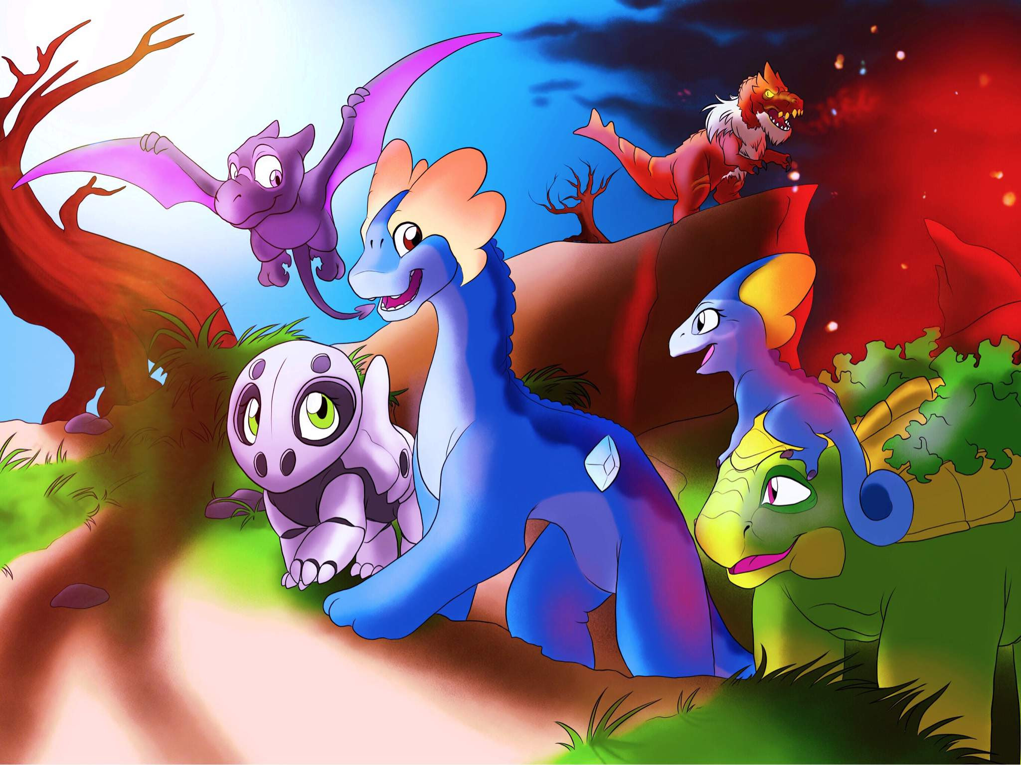 The Land Before Time Pokemon Amino