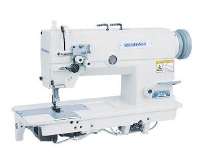velocidad Hing doble aguja máquina de coser con la barra de aguja derramado