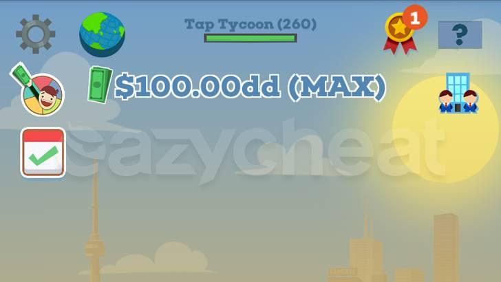 Tap Tycoon 2.0.12 cheat