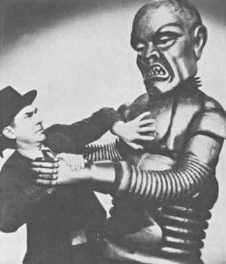 Image result for pic of frankenstein robot