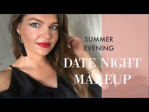 Glowy Evening Date Night Makeup | Valentines Day 2018 | Using YSL All Hours Foundation