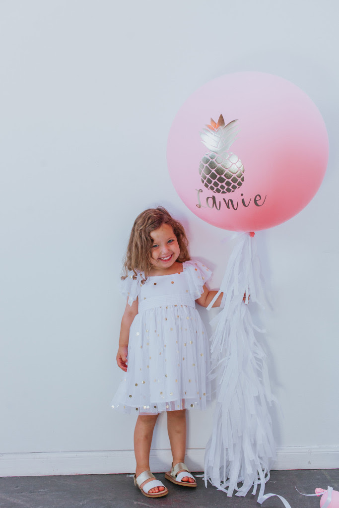 flamingo pineapple summer styled shoot 8