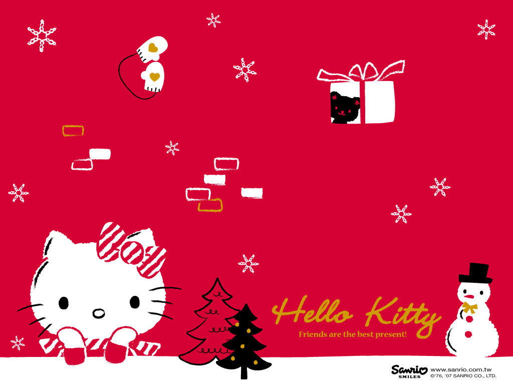 Black Hello Kitty Wallpapers Group 1024x769