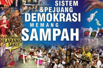 Demokrasi Cacat Sejak Lahir, Ustadz Pengikut Demokrasi Ustadz Cacat