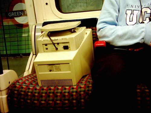 Computer at Green Park