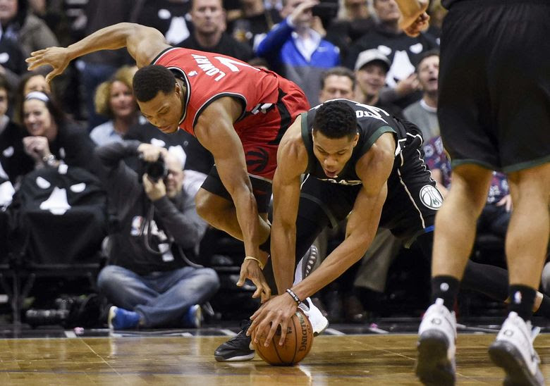 2017 04 21T003654Z 1085696369 NOCID RTRMADP 3 NBA PLAYOFFS TORONTO RAPTORS AT MILWAUKEE BUCKS