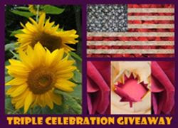 Triple Celebration Giveaway