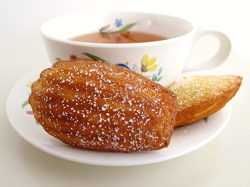 madeleines and tea