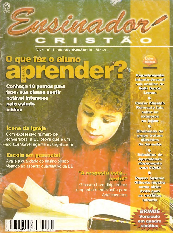 Calaméo Ensinador Cristão 15