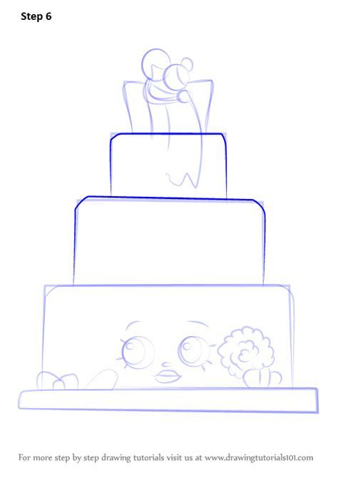 Learn How to Draw Wendy Wedding Cake from Shopkins