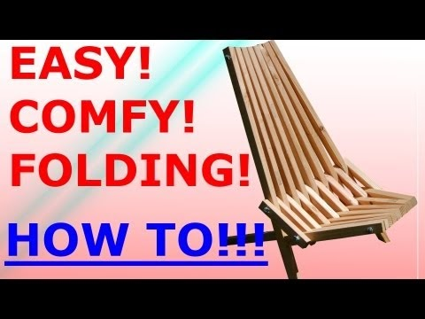 The Woodworking Trip How To Build A Folding Stick Chair