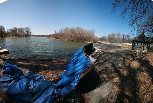 Prospect Park lake pano