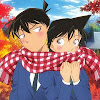 Detective Conan Ran And Shinichi