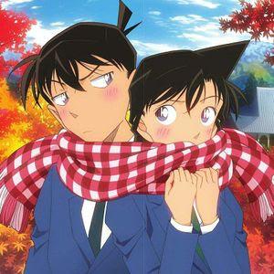 Detective Conan Ran And Shinichi