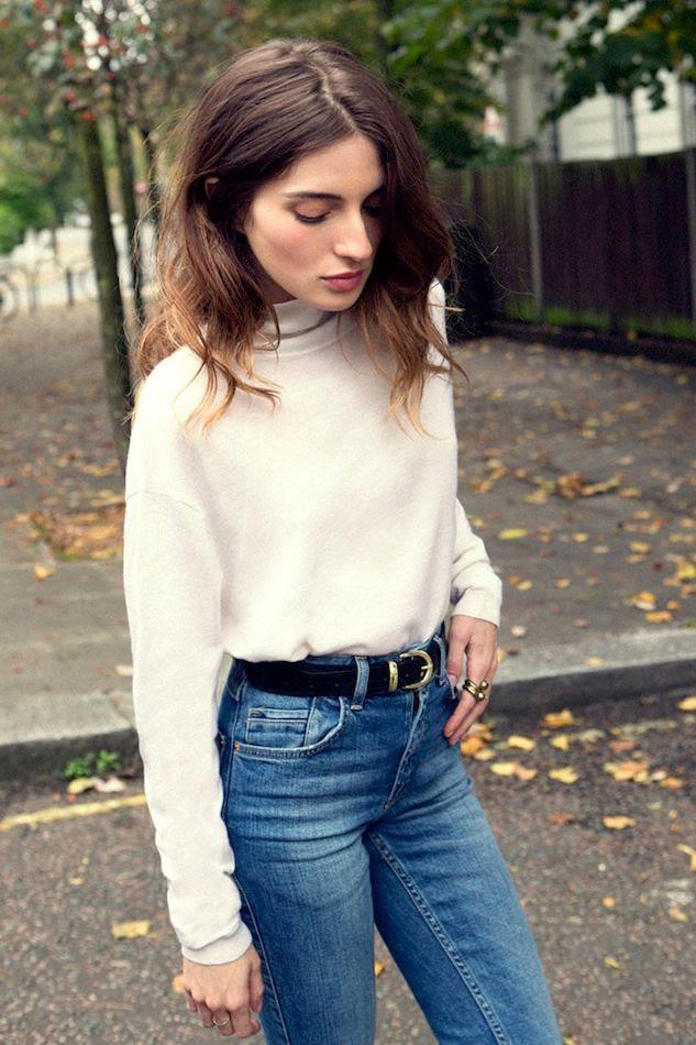 Le Fashion Blog Maria Valverde Turtleneck Sweater Classic High Waisted Jeans Belt Wavy Hair Spanish Actress Via Vogue Spain photo Le-Fashion-Blog-Maria-Valverde-Turtleneck-Sweater-Classic-High-Waisted-Jeans-Belt-Wavy-Hair-Spanish-Actress-Via-Vogue-Spain.jpg