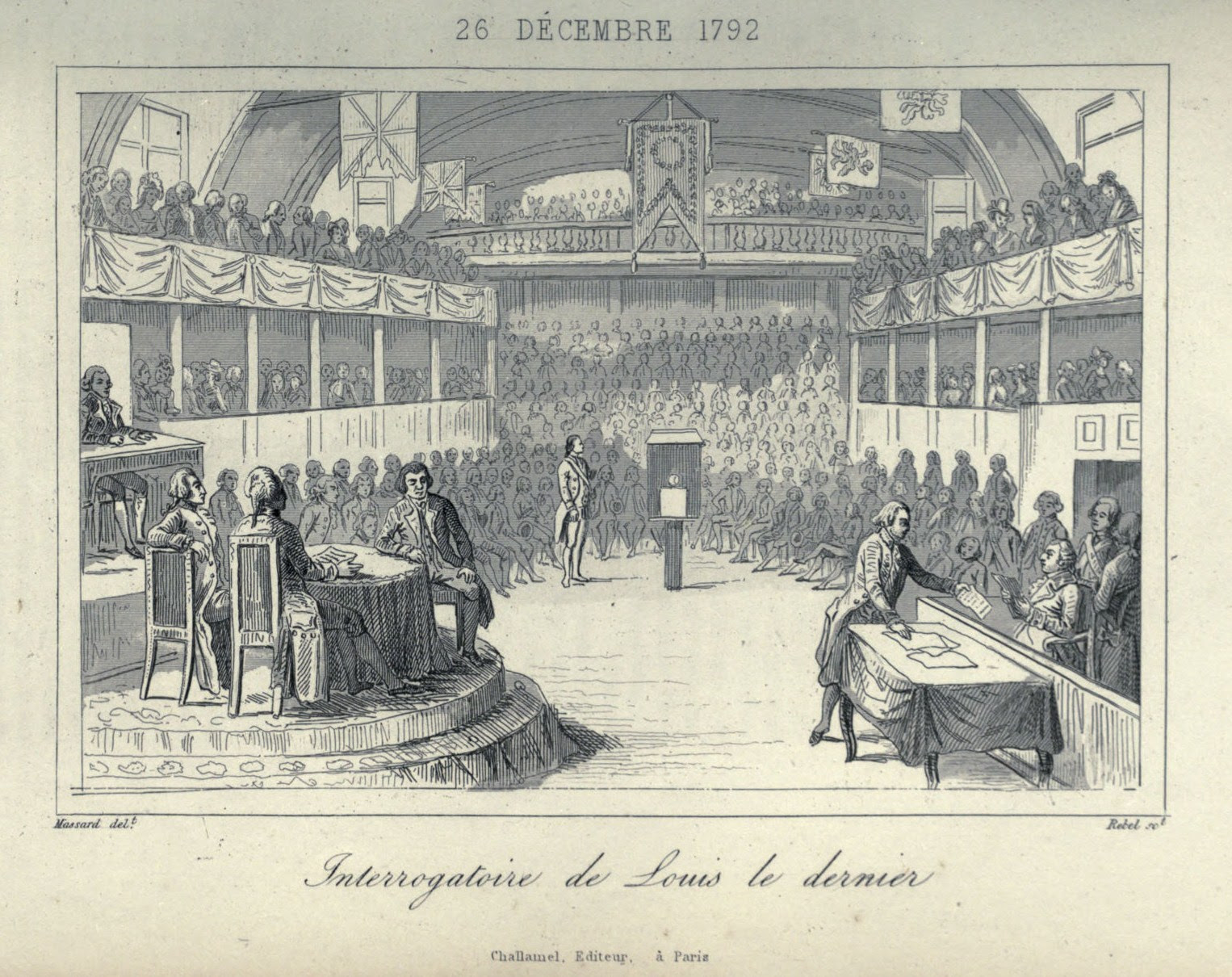 'Trial' of Louis XVI of France
