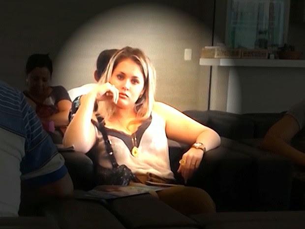 Prefeita de Bom Jardim (MA), Lidiane Leite, é procurada pela Polícia Federal (Foto: Reprodução / TV Mirante)