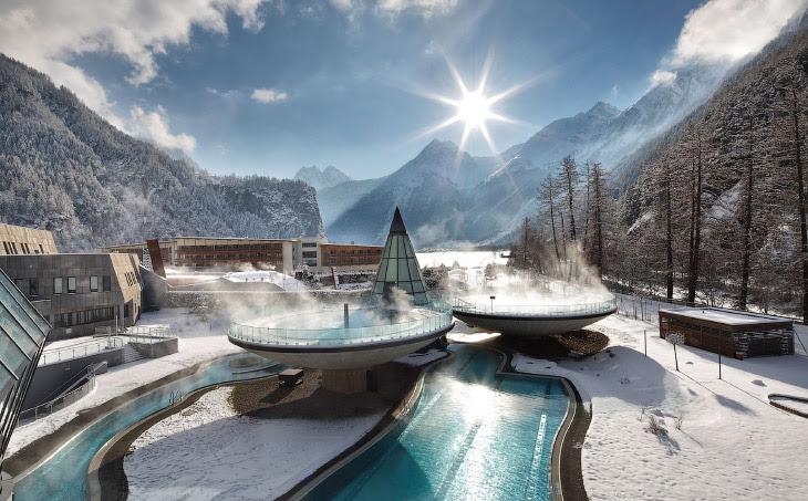 Самые впечатляющие горячие ванны в мире