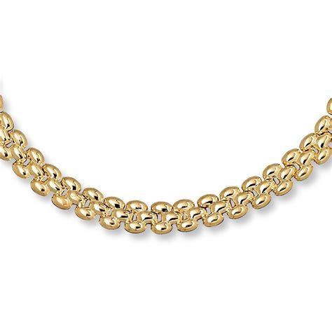 panther link bracelet  yellow gold   length