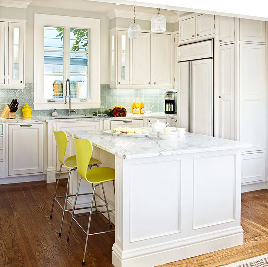 Home Architec Ideas White Traditional Kitchen Design Ideas