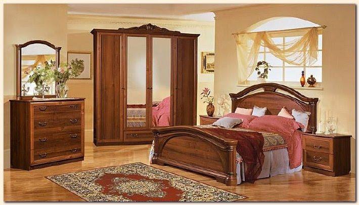 Décoration chambre meuble bois - Exemples d'aménagements