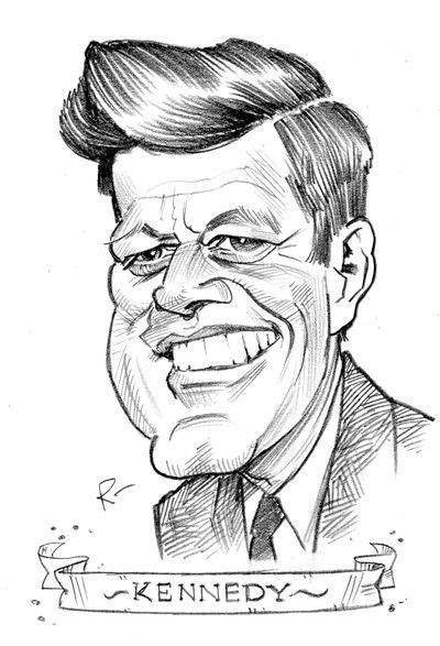 john fitzgerald kennedy bfd cold war caricatures