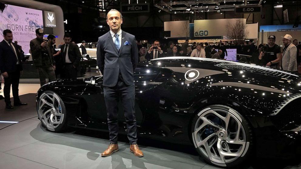 Supercars Gallery: Bugatti La Voiture Noire Interior Design