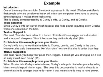 how to write a analysis essay example