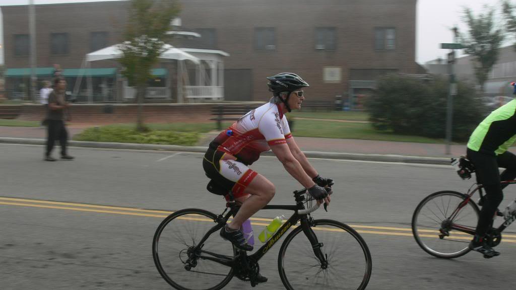 Racer on Iotla Street