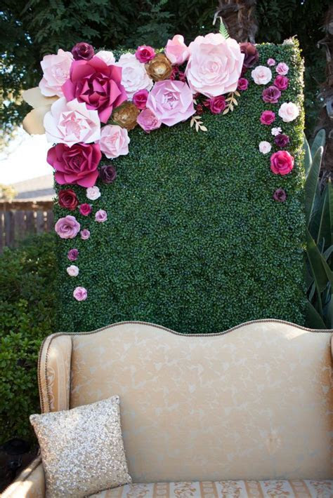 Paper Flowers for Weddings, Events Home Decor, DIY