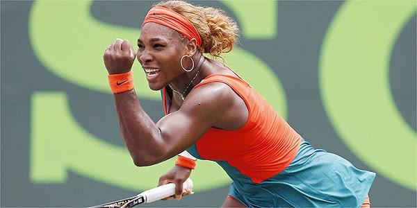 Norte-americana Serena Williams sofreu no início do primeiro set, mas reagiu e levou título (Geoff Burke-USA TODAY Sports)