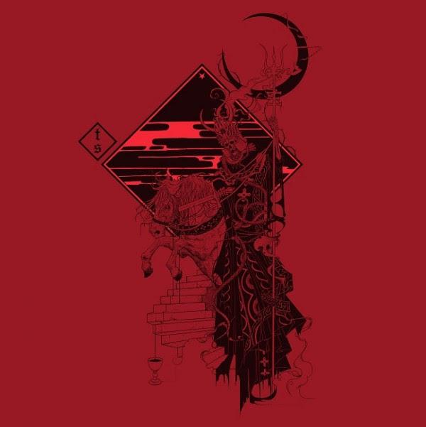 """Tombstones """"Red skies and dead eyes"""" cd/lim.lp/digital"""
