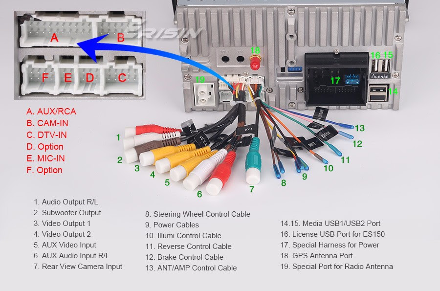 35 Car Dvd Player Wiring Diagram