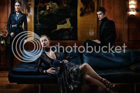 Kate Moss for Salvatore Ferragamo Fall 2012 Campaign