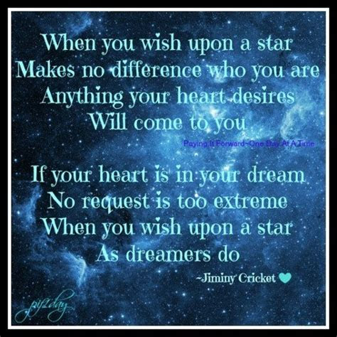 Wish Upon A Star Quotes