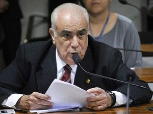 O vereador Antonio Carlos Rodrigues (PR-SP), suplente da senadora Marta Suplicy (Foto: Geraldo Magela/Agência Senado)