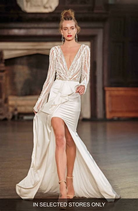 Women's High Low Wedding Dresses & Bridal Gowns   Nordstrom