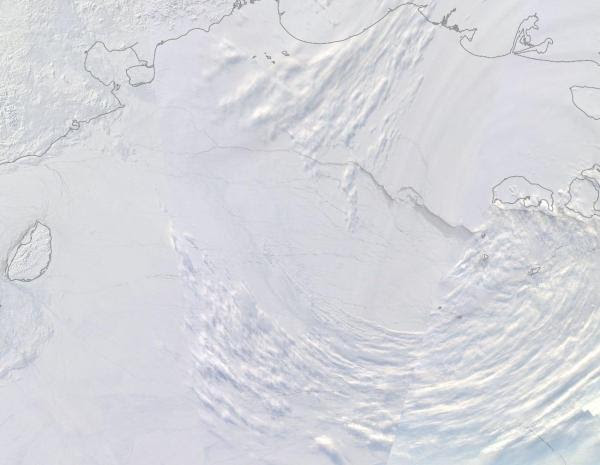 East Siberian Sea March 9