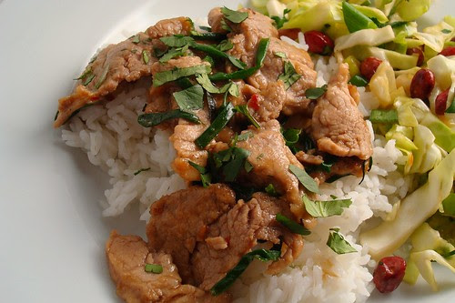Pork with Chives