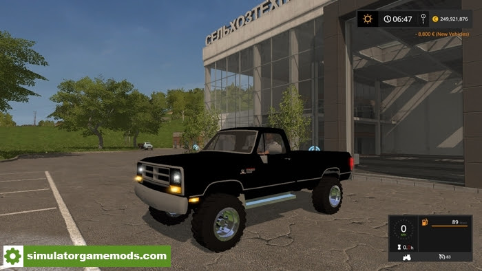 Fs Pickup V1 0 Simulator Games Mods Download