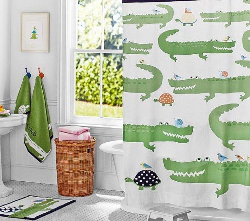 أجمل ستائر حمامات الأطفال هذا العام 2016