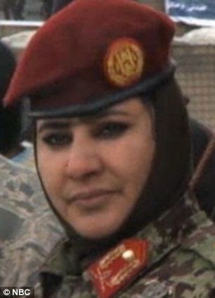 Brigadier General Mohammadzai Khatool is the only woman general in the Afghan Army