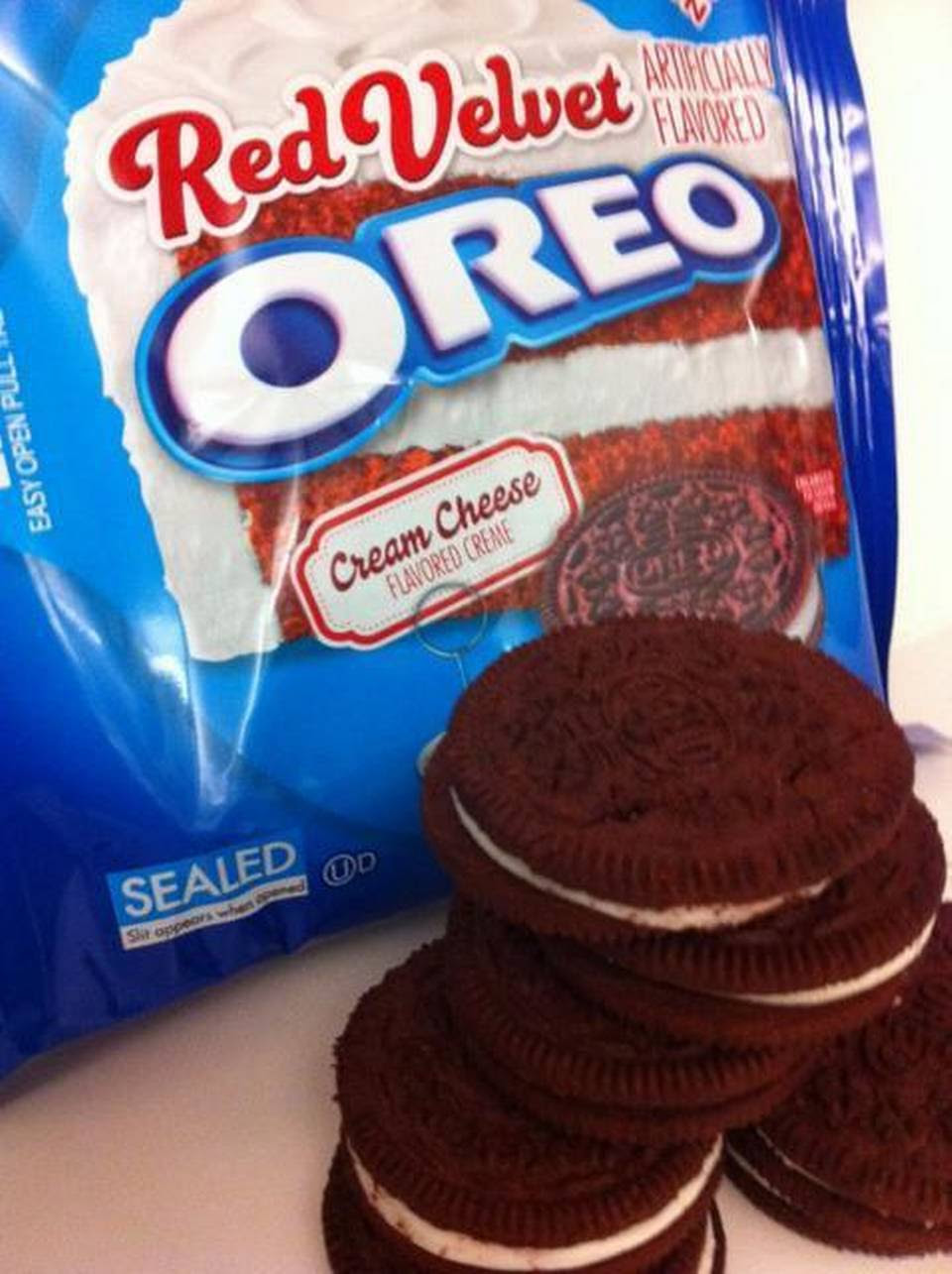 Red Velvet Oreos are a hit or a miss, depending on how sweet you like your cookies.