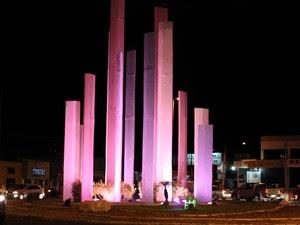 Monumento da Integração (Foto: Juliane Peixinho/ G1)