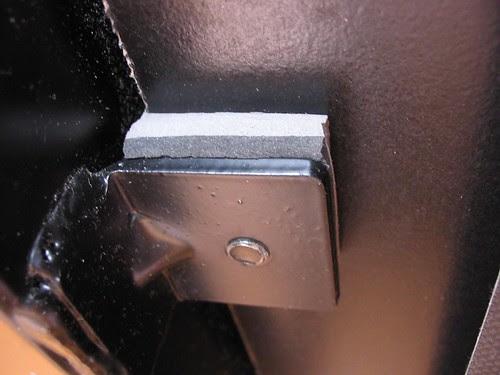 Modificação amortecedores esteira Kikos TS1501F -2
