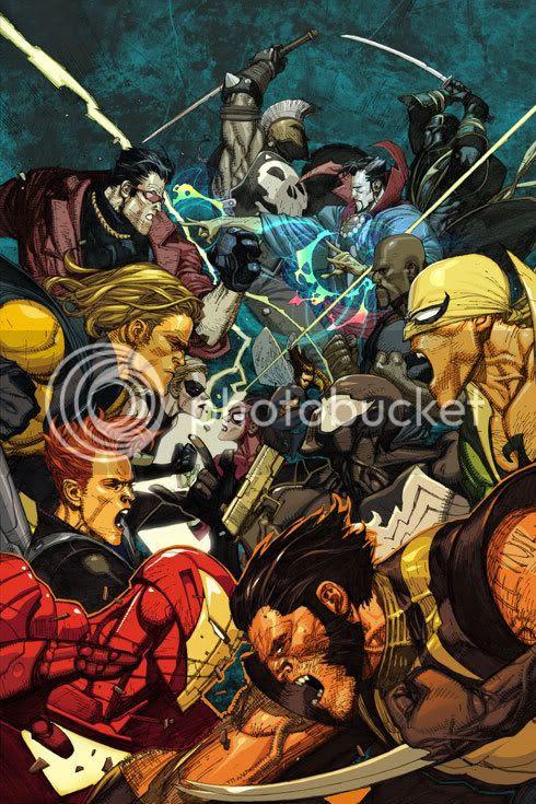 Novos Vingadores vs Poderosos Vingadores ? By Yu
