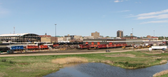 CPR Moose Jaw yard