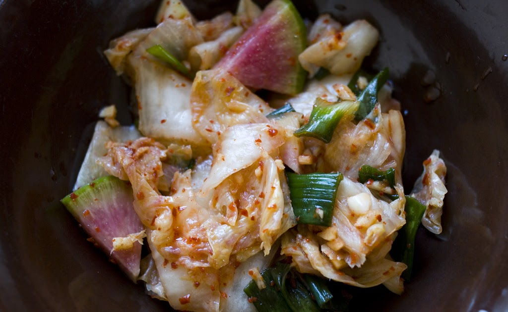 how to make quick kimchi