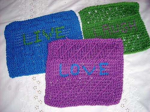 Live, Love, Laugh Wash Clothes
