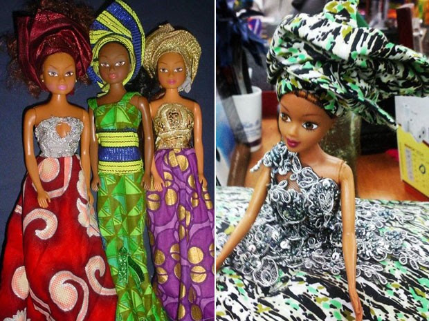 Bonecas da Queens of Africa (Foto: Queens of Africa/Divulgação)